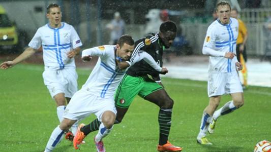 Elvis Manu Ivan Tomecak Rijeka Feyenoord Europa League 23102014