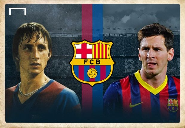 Johann Cruyff Lionel Messi