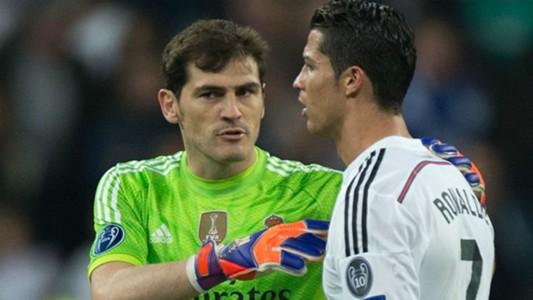 Casillas Ronaldo Real Schalke 10032015