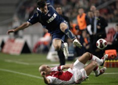 ajax dinamo - josip tadic jaap stam - europa league playoff - 04102007