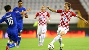 parolo rakitic - croatia italy - euro 2016 qualifiers - 12062015