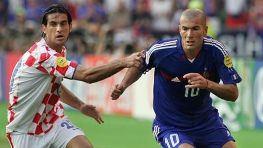 Giovanni Rosso Zinedine Zidane Croatia France