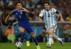 Muhamed Besic Leo Messi Bosna i Hercegovina Argentina