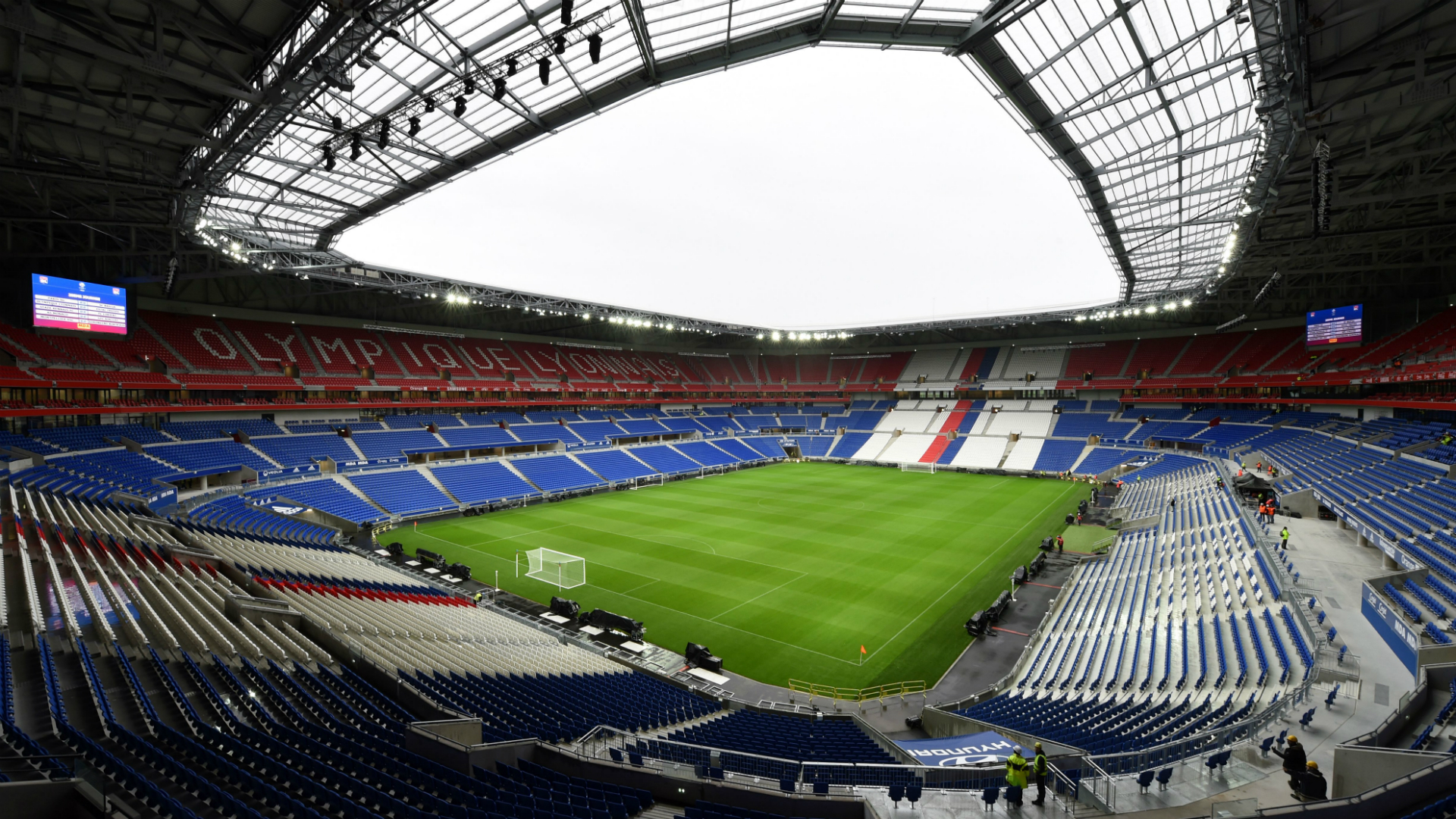 Lyon Troyes Stade des Lumieres Ligue 1