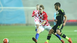 alen halilovic dani ceballos - croatia u21 spain u21 - qualifier - 17112015
