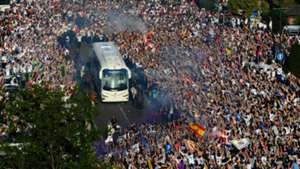 Real Madrid bus