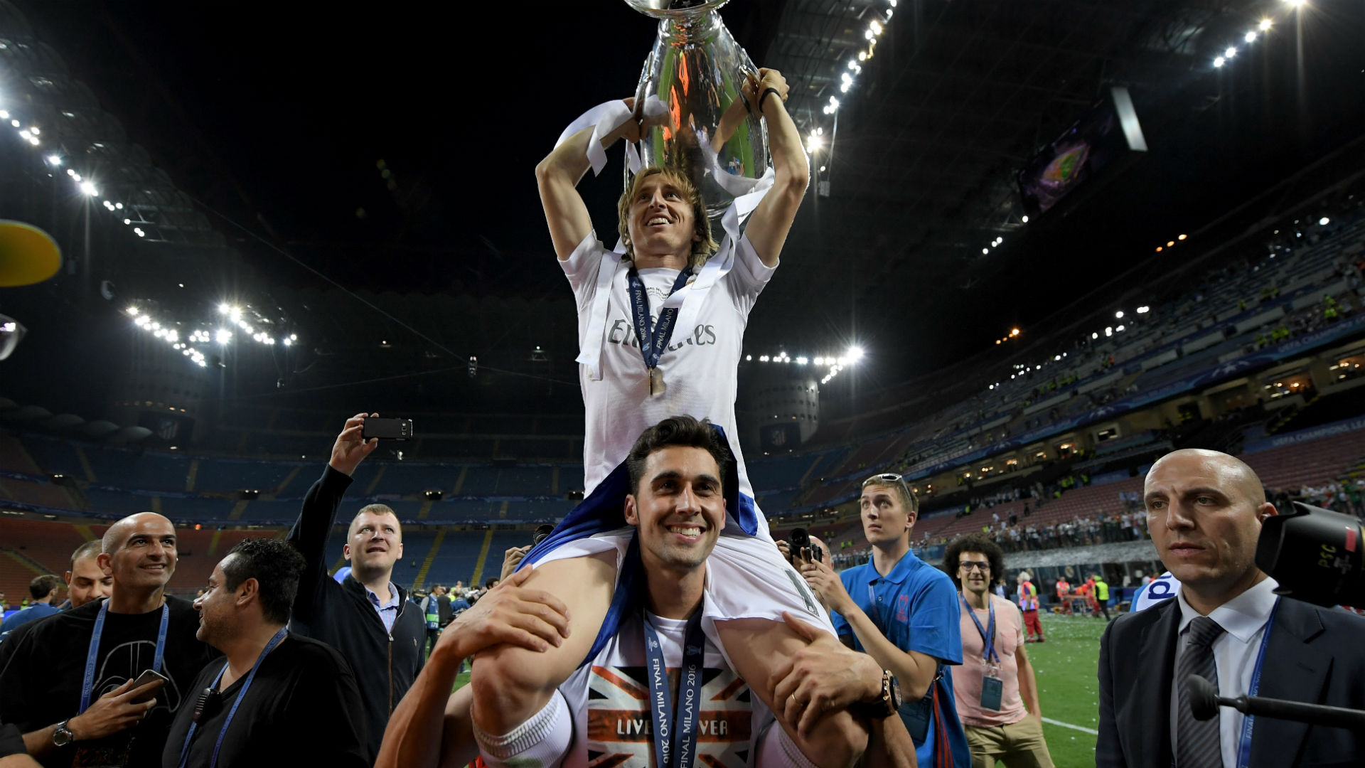 luka modric alvaro arbeloa - real atletico - champions league final - 28052016