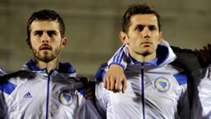 Miralem Pjanic-Senad Lulic-Bosnia and Herzegovina