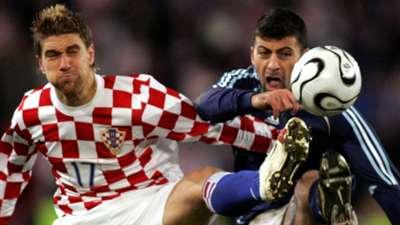ivan klasnic walter samuel - croatia 3 argentina 2 - friendly - 01032006
