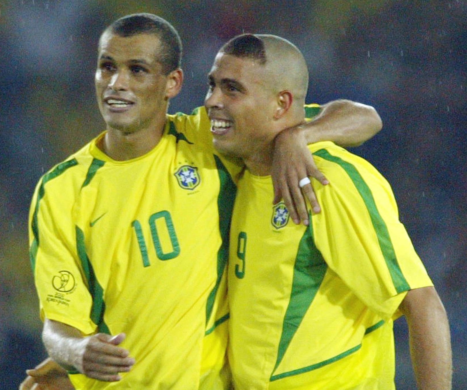 rivaldo ronaldo brazil world cup france 1998.