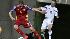 idelfons lima edin visca - andorra 0 bosnia 3 - euro 2016 qualifiers - 28032015