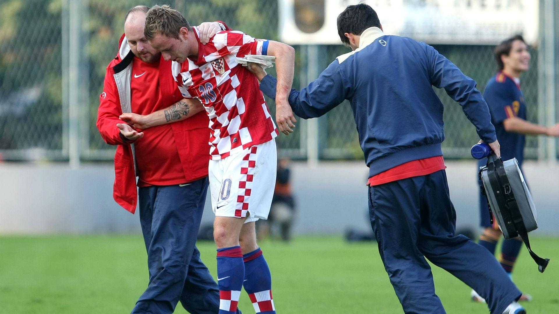 ivan rakitic - croatia spain U21 - euro qualifiers - 12102010