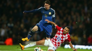 Lionel Messi Marin Leovac Croatia Argentina Friendly Match 12112014.
