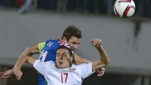 georgij milanov darijo srna - bulgaria croatia - euro 2016 qualifier - 10102014
