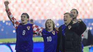 nikica jelavic luka modric ivica olic - croatia 0 turkey 0 - euro 2012 playoff - 11112011