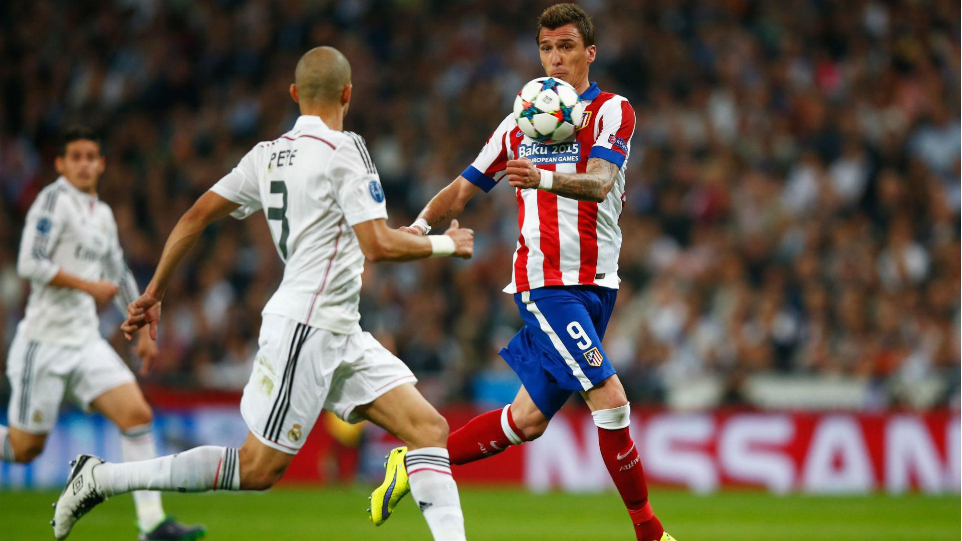 Mario Mandzukic Real Madrid Atletico Madrid 22042015