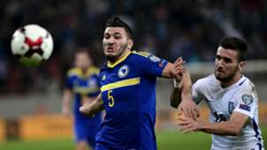 Sead Kolasinac Yannis Gianniotas Bosnia Greece
