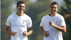 Mario Mandzukic Marko Pjaca Juventus