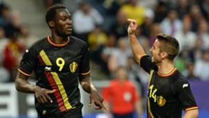 Romelu Lukaku Dries Mertens Belgium