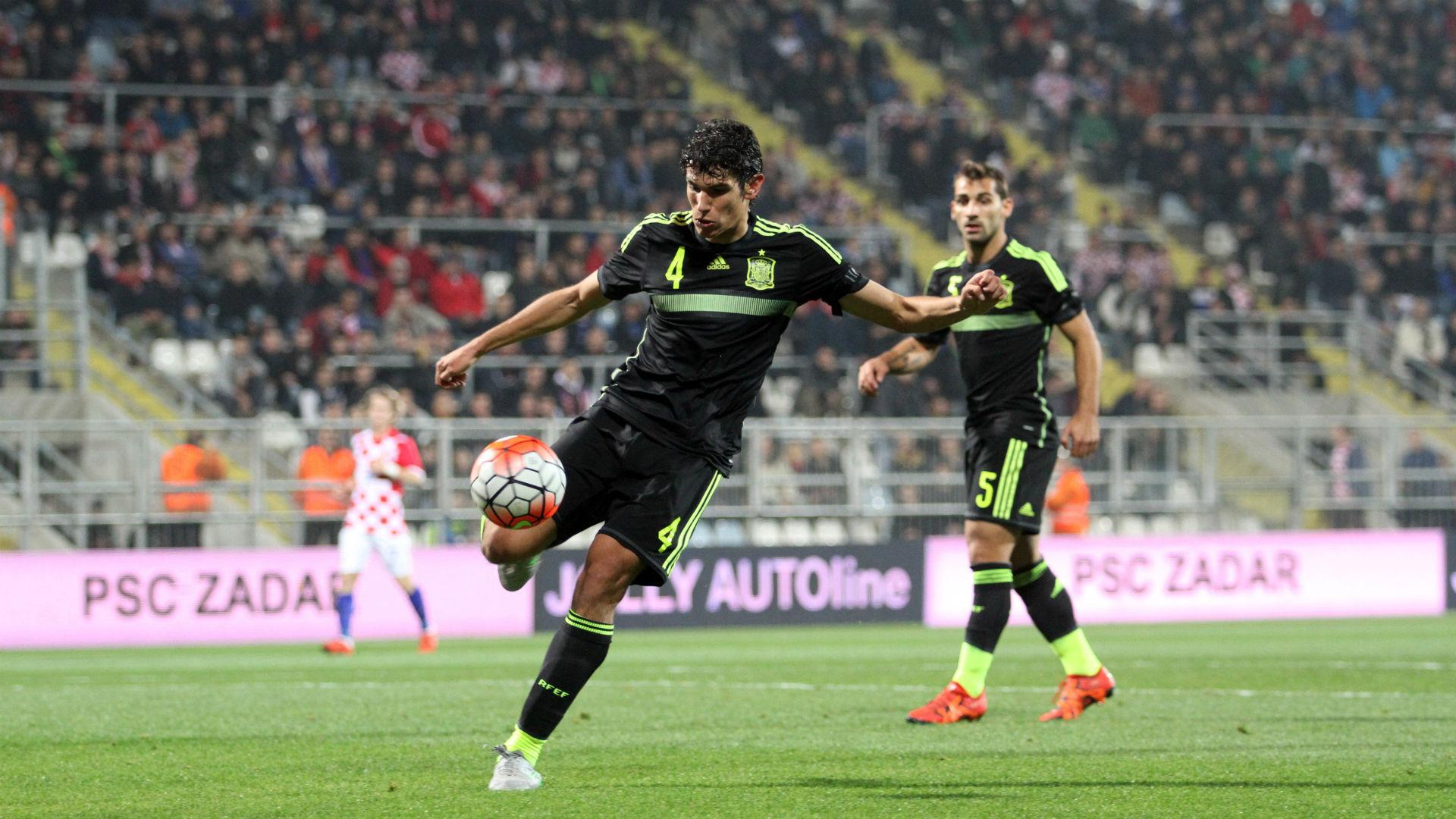 jesus vallejo - croatia u21 spain u21 - qualifier - 17112015