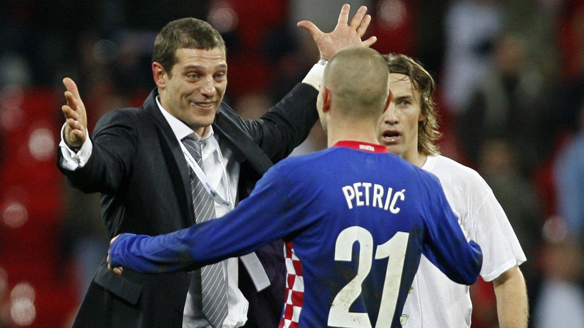 slaven bilic mladen petric - england croatia - euro 2008 qualifier - 21112007