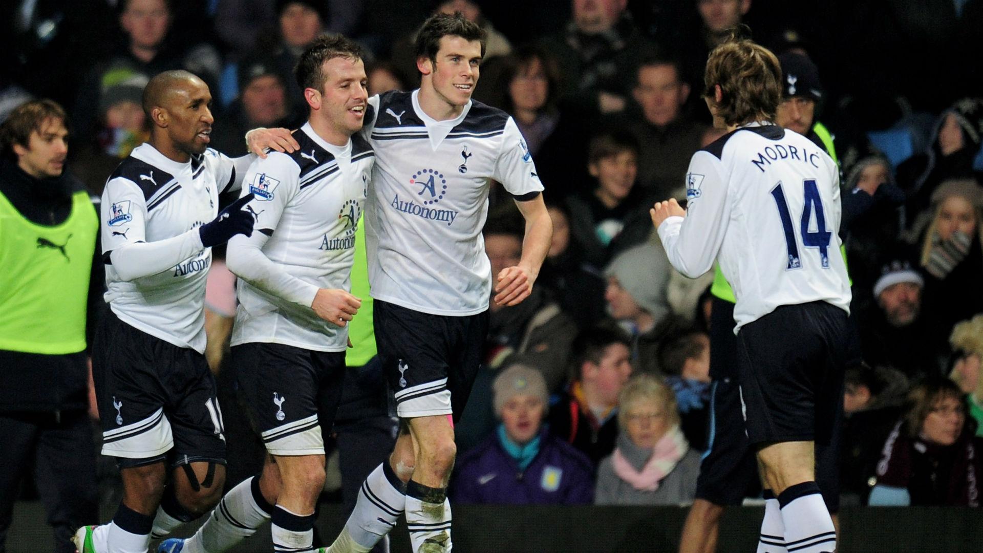 Luka Modric Gareth Bale Tottenham