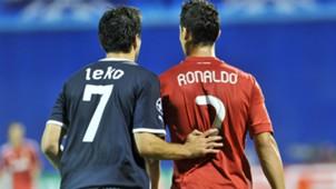jerko leko cristiano ronaldo - dinamo 0 real madrid 1 - champions league - 14092011