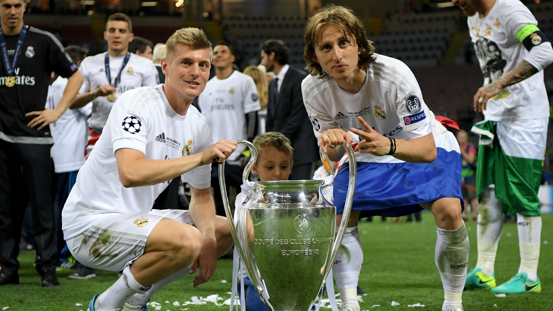 luka modric toni kroos - real atletico - champions league final - 28052016