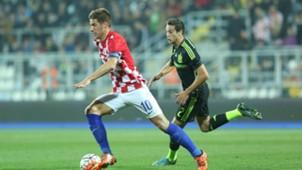 mario pasalic - croatia u21 spain u21 - qualifier - 17112015