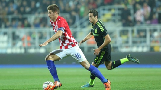 mario pasalic - croatia u21 spain u21 - qualifier - 17112015