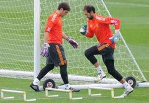 Iker Casillas Diego Lopez Real