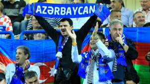 croatia 6 azerbaijan 0 - fans - euro 2016 qualifiers - 13102014