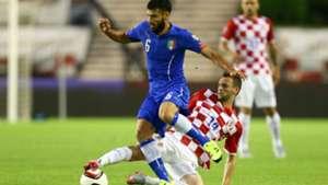 antonio candreva marcelo brozovic - croatia italy - euro 2016 qualifier - 12062015