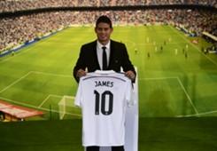James Rodriguez Real Madrid Primera