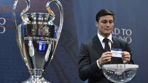 javier zanetti - champions league draw 14122015