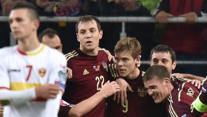 Russia Montenegro EURO 2016 qualifiers 12102015