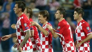 mandzukic modric brozovic kramaric - croatia 6 azerbaijan 0 - euro 2016 qualifiers - 13102014