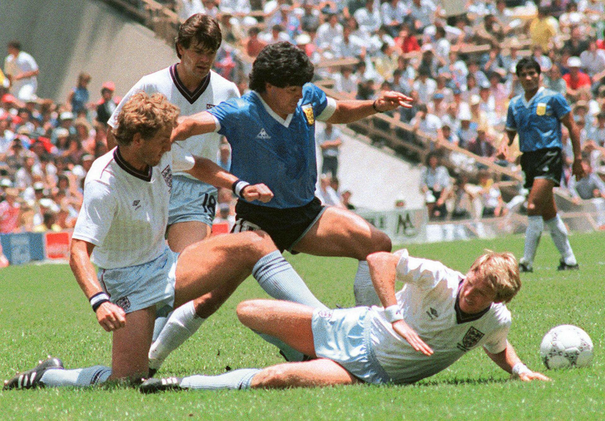 Diego Maradona Argentina Engleska