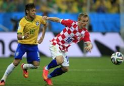 Luka Modric Neymar Hrvatska Croatia Brazil Svjetsko prvenstvo World Cup 2014.