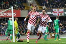 mario mandzukic duje cop - northern ireland croatia - friendly - 15112016