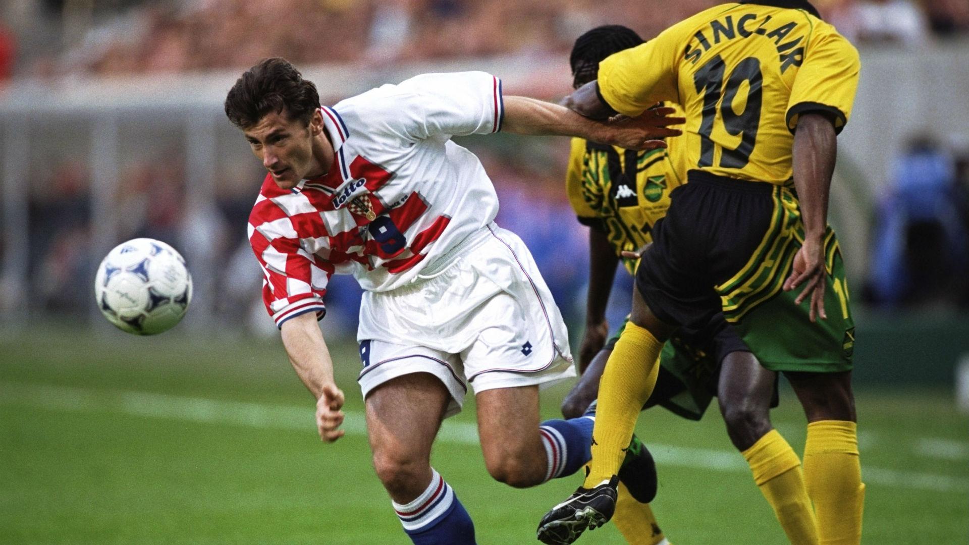 davor suker sinclair - croatia 3 jamaica 1 - world cup 1998 - 14061998