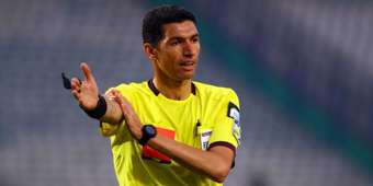 Referee Gehad Geresha