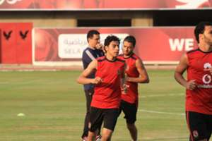 Akram Tawfik - Al Ahly training