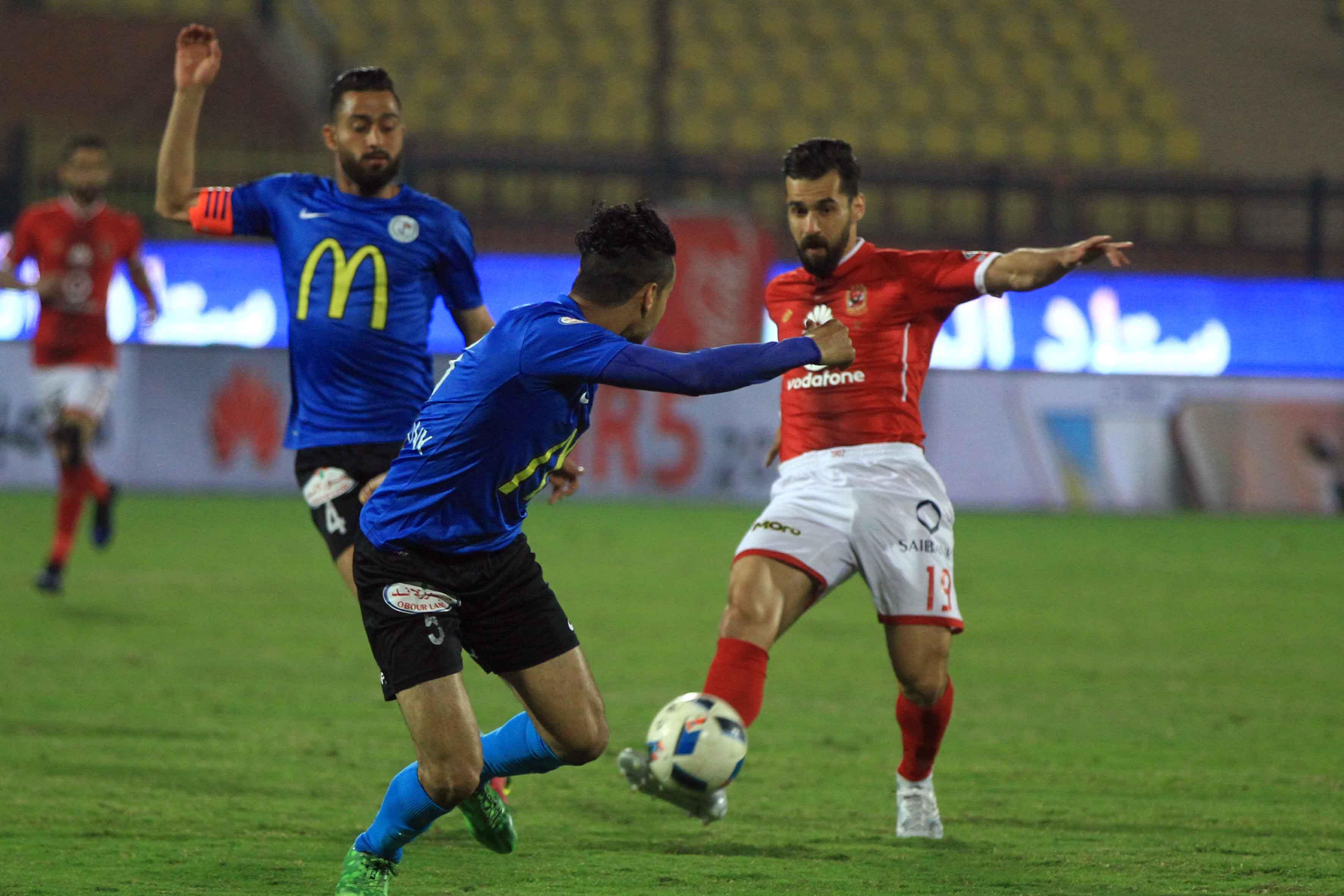 Abdallah El Said - Al Ahly v El Daklyeh