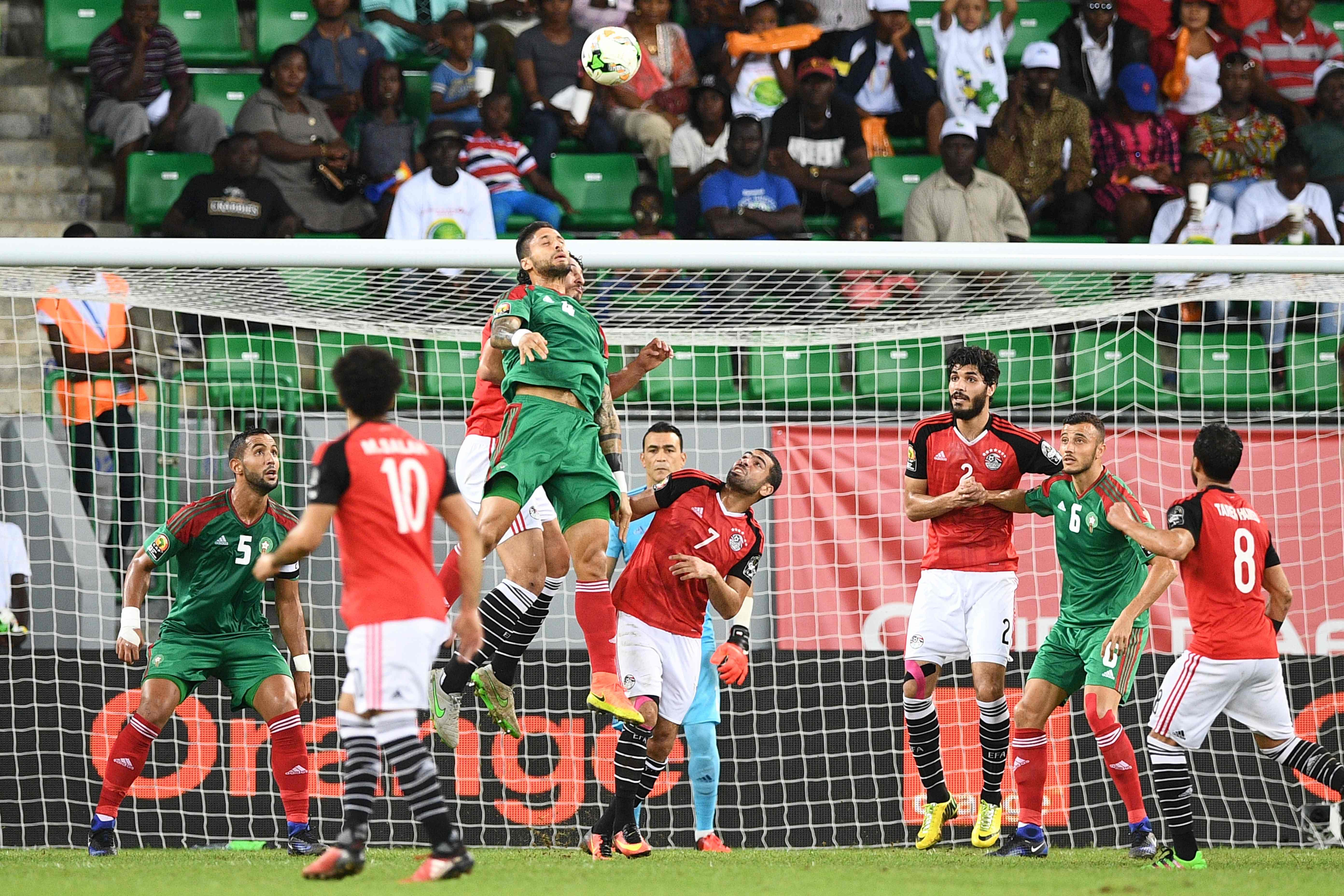 Egypt v Morocco -29-1-2017