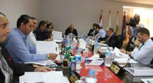 Council Egyptian Football Association Board meeting chaired by Hany Abo Rida
