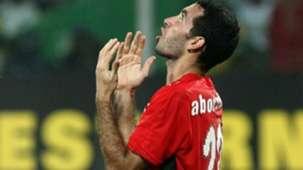 Mohamed Abou trika shirt against Egypt