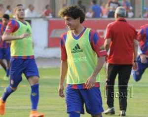 mohamed hany - al ahly team training