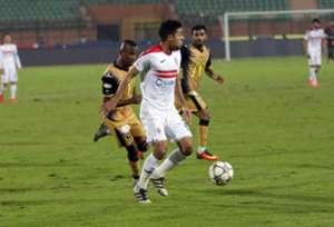 Mohamed Ibrahim - El Entag El Harby v Zamalek - 21-12-2015