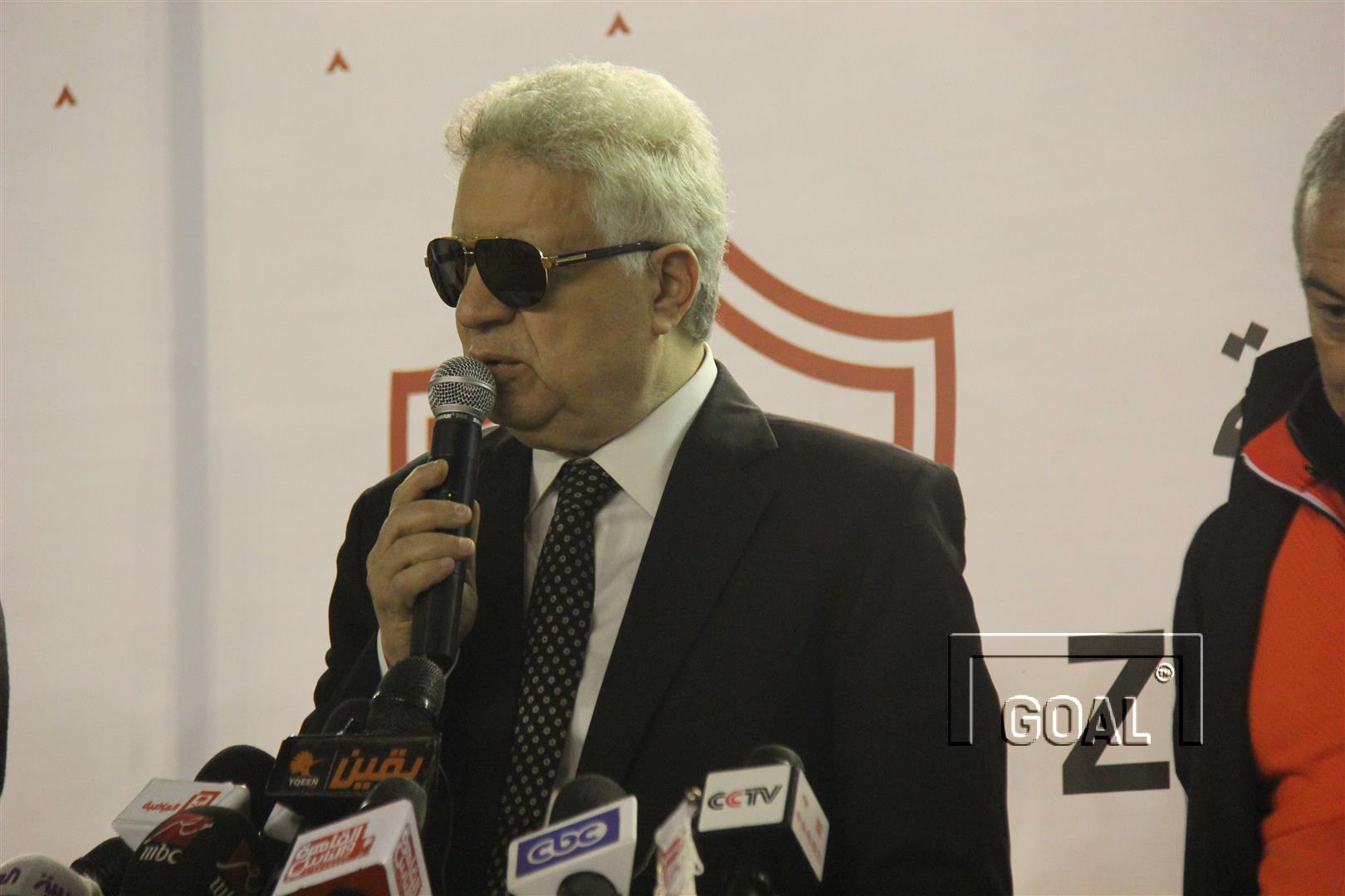 Mortada Mansour - Zamalek president